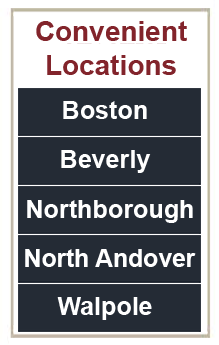 Joseph Waldbaum Locations: Boston, Beverly, Marlboro, North Andover, Walpole